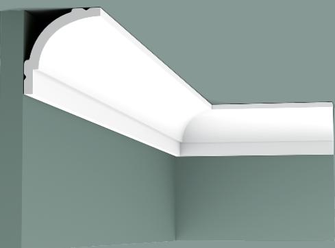 Corniche CB525 L 200 x H 6,5 x L 6 cm